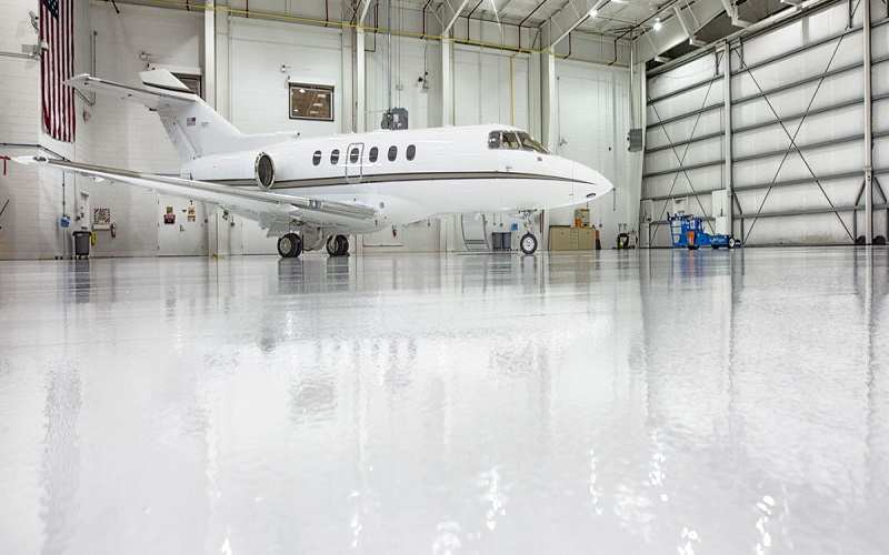 Epoxy Floor Coating For Aircraft Hangar - GZ Industrial Supplies