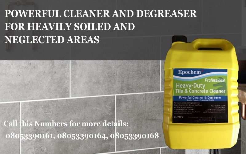 Epochem Heavy Duty Tile And Concrete Cleaner