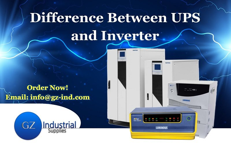 Difference Between UPS and Inverter