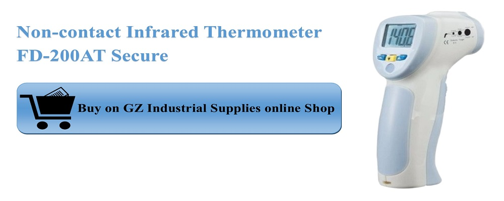 Non-contact Infrared Thermometer FD-200AT Secure